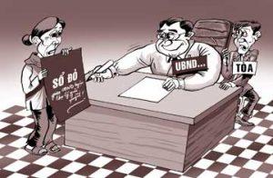 Thẩm quyền giải quyết tranh chấp đất đai của UBND được quy định như thế nào?
