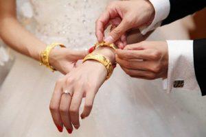 vàng và tiền cưới là tài sản chung hay riêng
