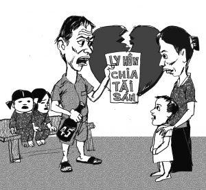 Tranh chấp về tài sản và con cái khi ly hôn