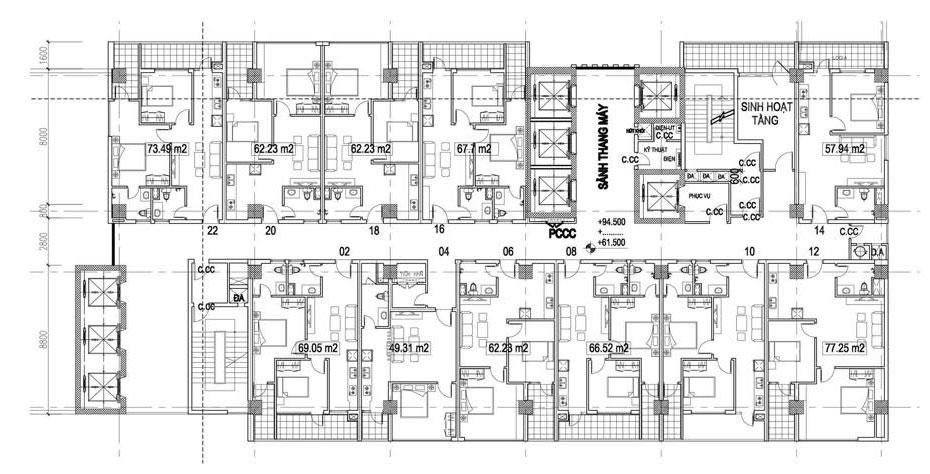 Thế chấp căn hộ chung cư hình thành trong tương lai có được không?