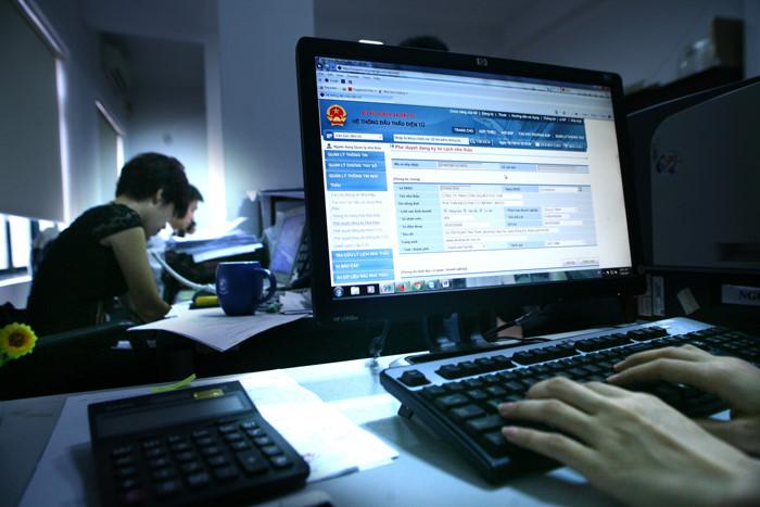 Chi phí đăng tài thông tin đấu thầu trên Báo Đấu thầu, Hệ thống mạng đấu thầu quốc gia