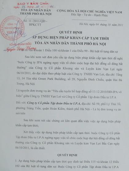 Tải mẫu quyết định hủy bỏ biện pháp khẩn cấp tạm thời cho thẩm phán