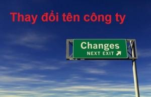 Thay đổi tên công ty và vấn đề thuế liên quan
