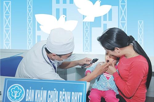trẻ em dưới 6 tuổi phải gia hạn thẻ bảo hiểm y tế