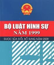 Bộ luật Hình sự năm 1999, sửa đổi bổ sung một số điều năm 2009