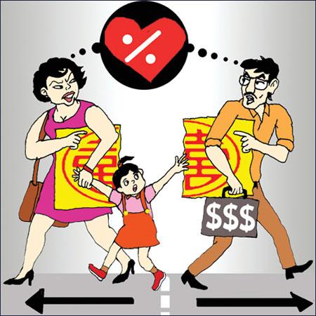 phân chia tài sản chung của vợ chồng