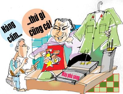 Tội sản xuất, tàng trữ, vận chuyển, buôn bán hàng cấm theo quy định của pháp luật hiện hành