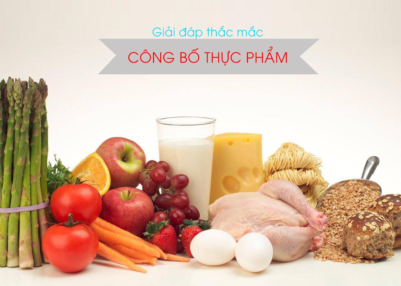 Dịch vụ công bố thực phẩm nhập khẩu tại Hà Nội