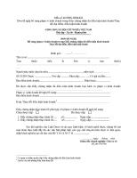 đơn đề nghị xác nhận nhân sự