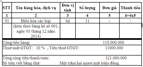 Cách viết hóa đơn GTGT được quy định như thế nào?