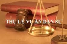 Quy trình thụ lý đơn khởi kiện vụ án dân sự