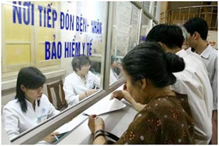 khám chữa bệnh khác nơi đăng ký ban đầu