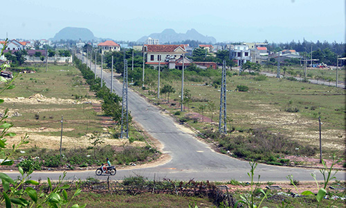 Diện tích tách thửa ở Hà Tĩnh