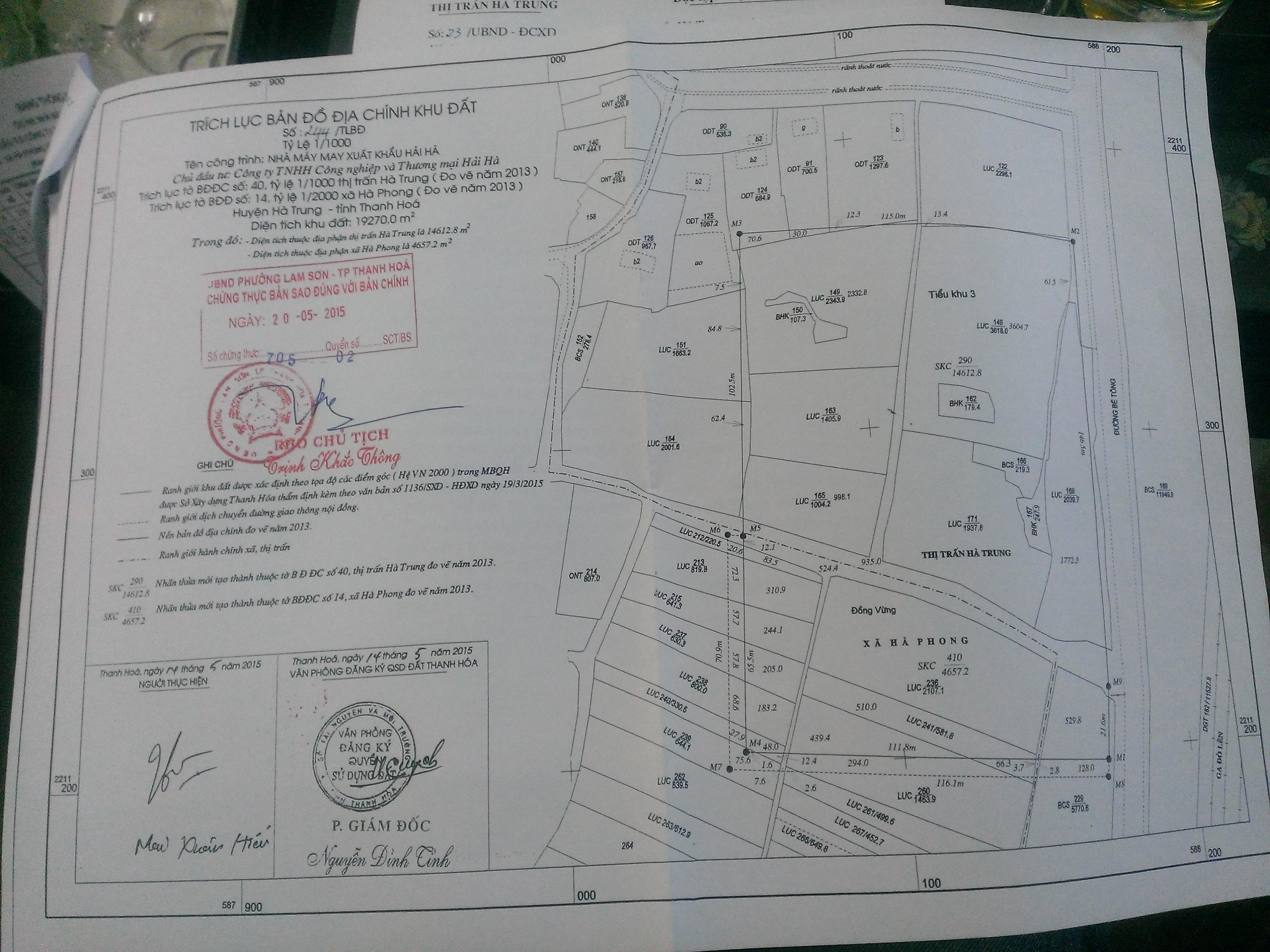 Nội dung bản đồ địa chính theo quy định pháp luật hiện hành