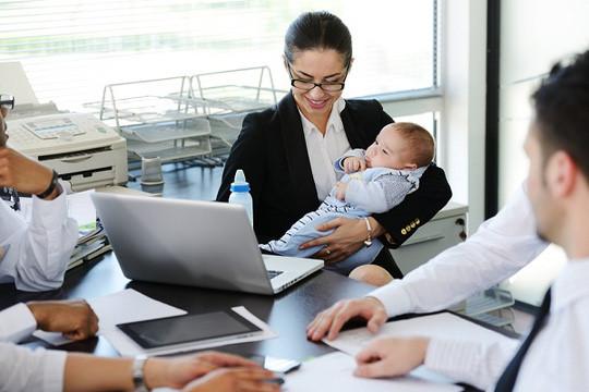 Sắp xếp công việc khác cho nhân viên sau nghỉ thai sản