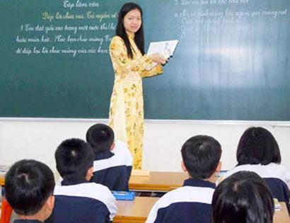 giảm trừ định mức giờ dạy cho giáo viên