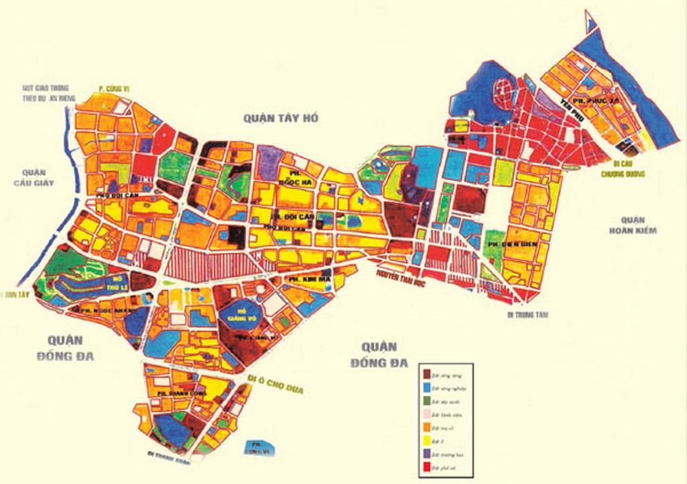 Quy hoạch kế hoạch sử dụng đất cấp huyện
