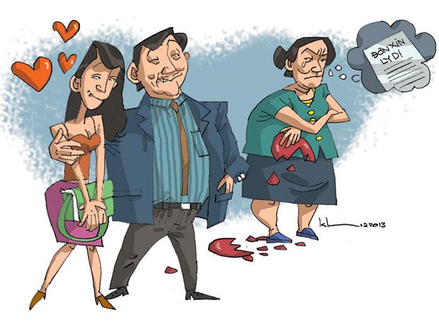 Giải quyết ly hôn nhanh nhất khi chồng ngoại tình