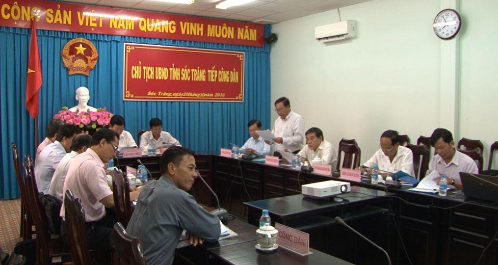Tiếp công dân tại Trụ sở tiếp công dân cấp tỉnh theo Luật tiếp công dân năm 2013