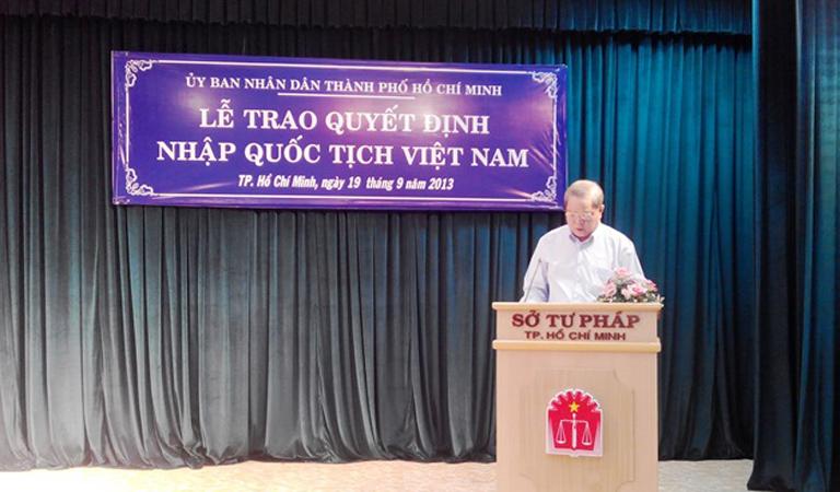 Điều kiện và thủ tục nhập quốc tịch Việt Nam theo Luật quốc tịch Việt Nam