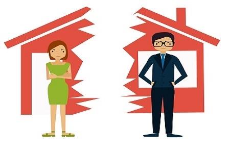 chia tài sản của vợ chồng khi ly hôn