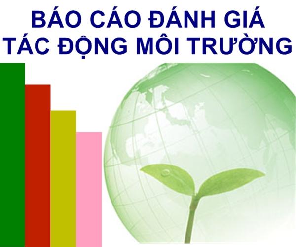Phí thẩm định báo cáo đánh giá tác động môi trường