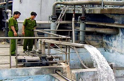 Phí thẩm định đề án xả nước thải vào nguồn nước trên địa bàn thành phố Hà Nội