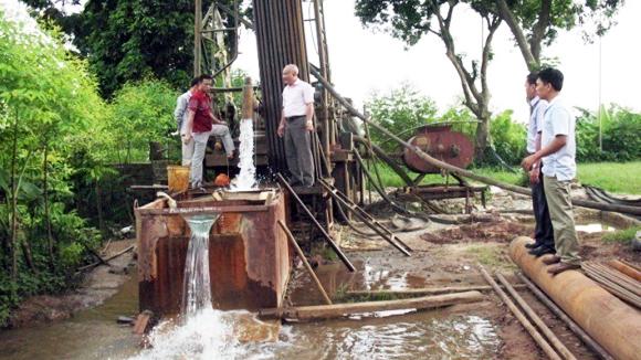 Phí thẩm định hồ sơ điều kiện hành nghề khoan nước dưới đất