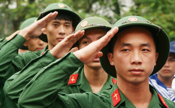 đi nghĩa vụ quân sự