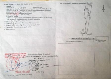 Đính chính giấy chứng nhận