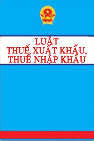 luật thuế xuất khẩu