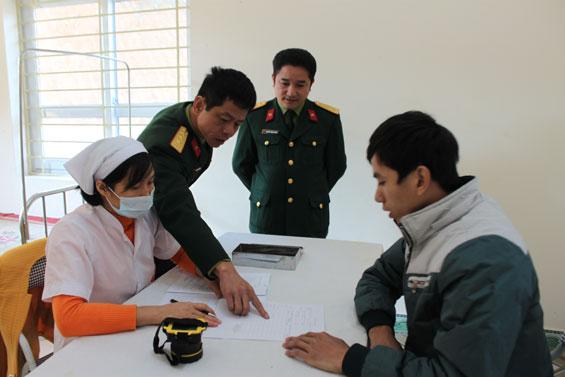 khám sức khỏe thực hiện nghĩa vụ quân sự