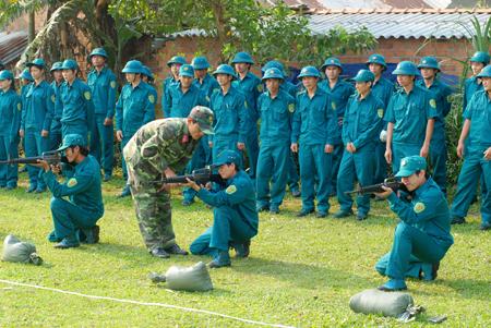 Xử phạt vi phạm hành chính về dân quân tự vệ