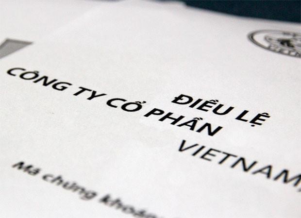 Điều lệ công ty theo quy định mới nhất của Luật doanh nghiệp