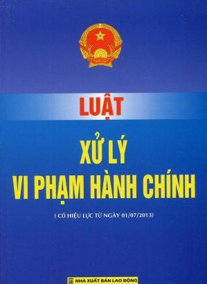 Tải Luật xử lý vi phạm hành chính năm 2012