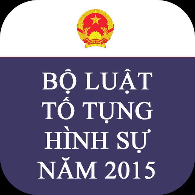 Tải Bộ luật tố tụng hình sự năm 2015