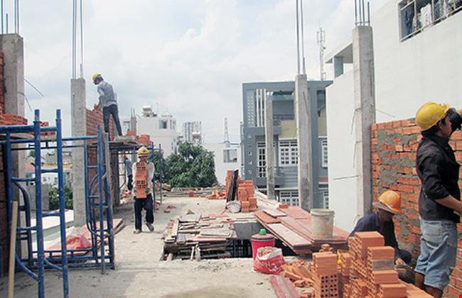 vi phạm quy định về trật tự xây dựng