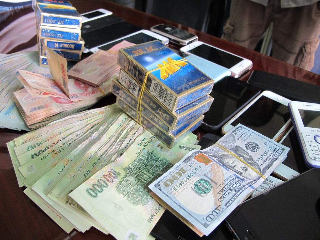 Xác định giá trị tài sản dùng vào việc đánh bạc được quy định như thế nào?