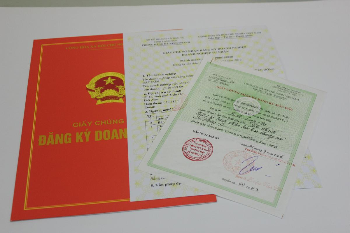 Tải mẫu thông báo về tính hợp lệ của hồ sơ đăng ký doanh nghiệp