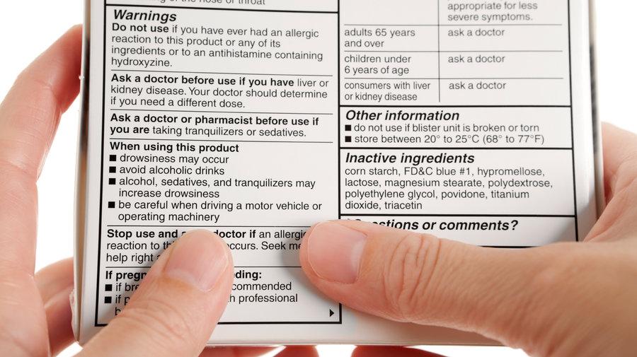 Hướng dẫn cách ghi tác dụng không mong muốn của thuốc trên nhãn
