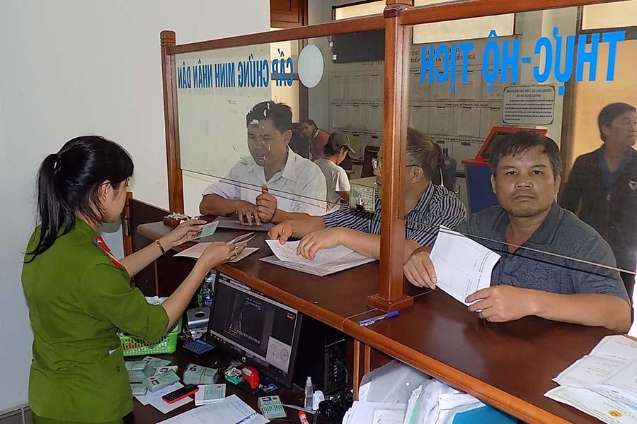 Lệ phí cấp chứng minh nhân dân tỉnh Thừa Thiên Huế