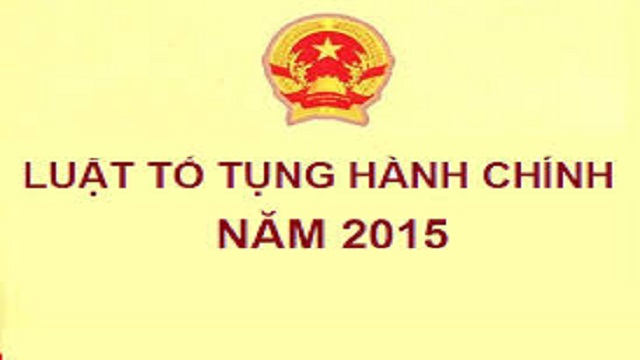 Tải luật tố tụng hành chính năm 2015 mới nhất – Luật Toàn Quốc