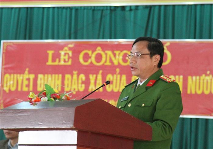 Thủ tục trình chủ tịch nước ban hành quyết định về đặc xá