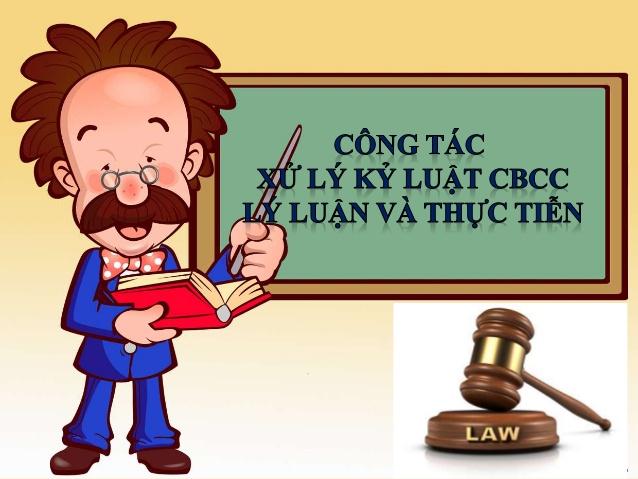 Các trường hợp chưa xem xét xử lý kỷ luật đối Các trường hợp chưa xem xét xử lý kỷ luật đối với công chứcvới công chức