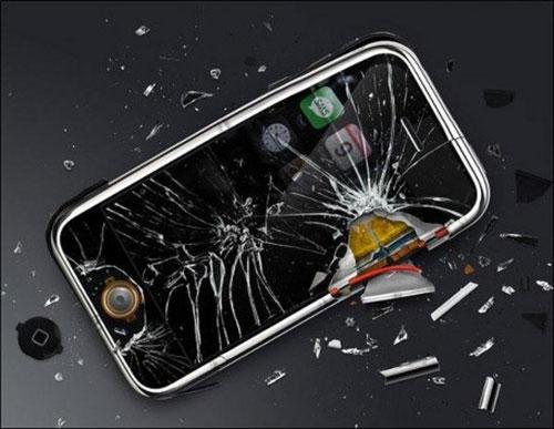 Đập điện thoại của người yêu