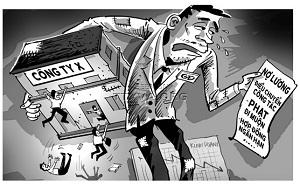 Giữ lại lương của NLĐ thì NSDLĐ có vi phạm pháp luật không