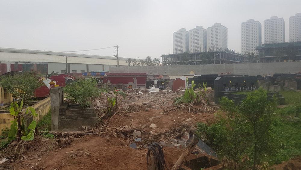 Bồi thường, hỗ trợ di chuyển mộ tại Bắc Giang khi thu hồi đất