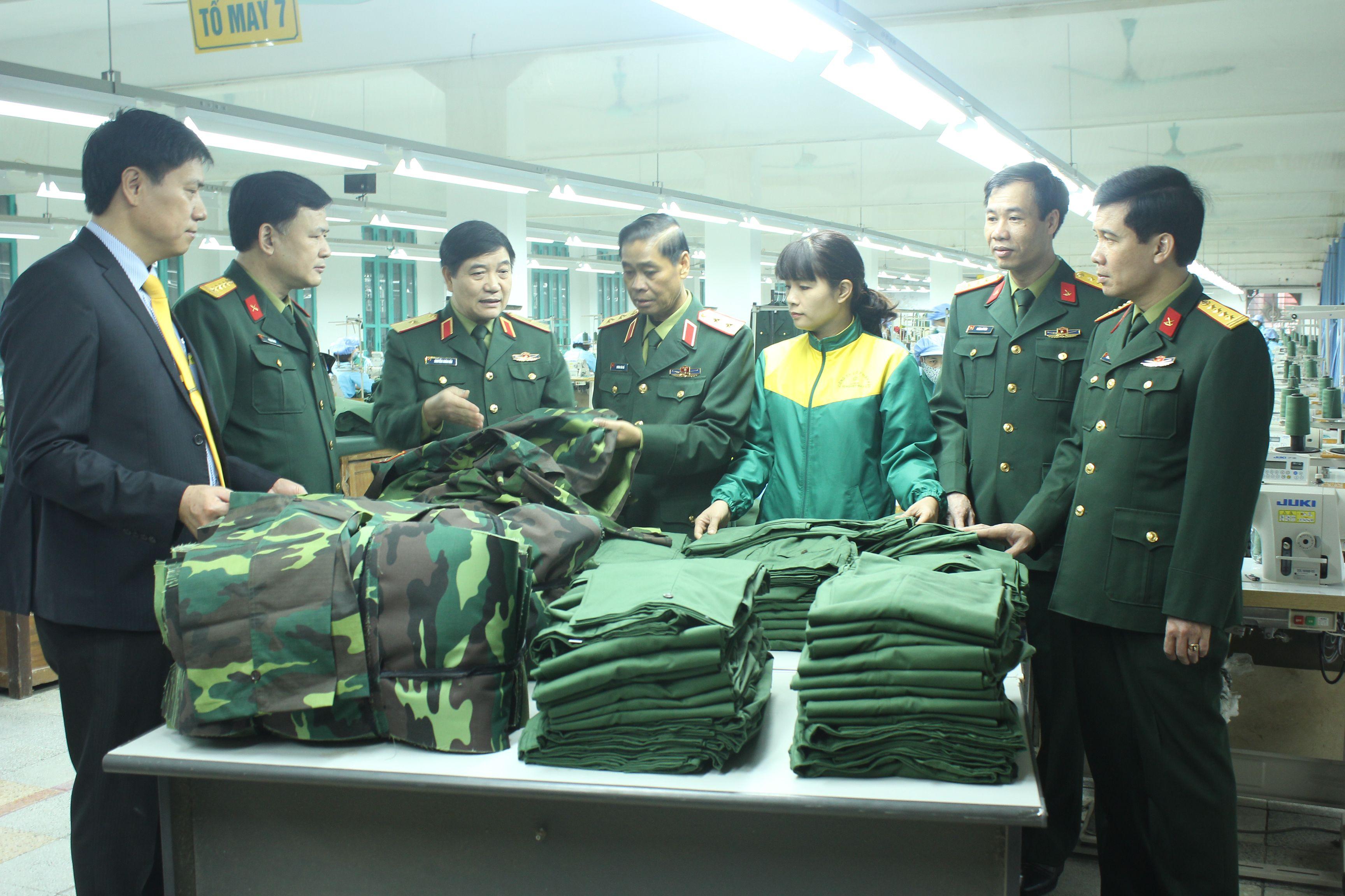 Xử phạt vi phạm về quản lý quân trang