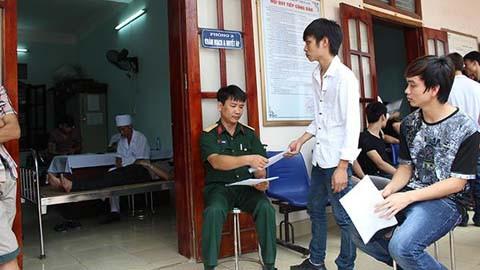 Xử phạt các hành vi vi phạm về khám sức khỏe thực hiện nghĩa vụ quân sự