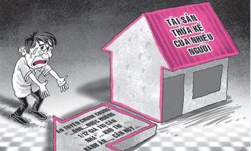 Thỏa thuận phân chia thừa kế quyền sử dụng đất của hộ gia đình